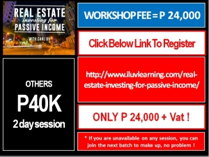 4 Week Workshop with Carl Dy Register