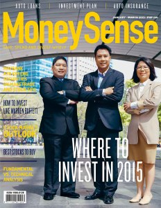 #7MoneySense Jan 2015 Cover
