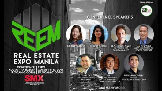 Real Estate Expo Manila 2017 Property Guru Carl Dy Spectrum Philippines Property - 2